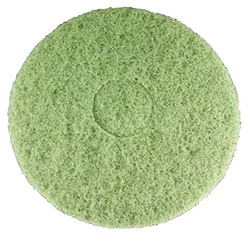 Superpad machine pad 330 mm - 13 inch groen (5 stuks) voor vloer polijstmachine borden machine schijfmachine schijf- reiniging hard voor schrobben basisreinigingspad poetspad schrobpad schoonmaakpad steen