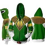 wqleso power rangers con cappuccio delle donne degli uomini 3d stampato graffiti felpe divertente cosplay coat,c-xxxxl