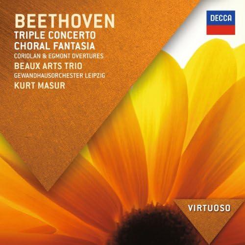 Beaux Arts Trio, Gewandhausorchester Leipzig & Kurt Masur