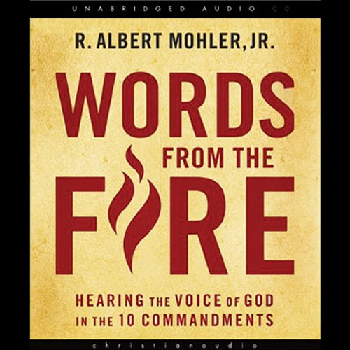 Words from the Fire audiobook cover art