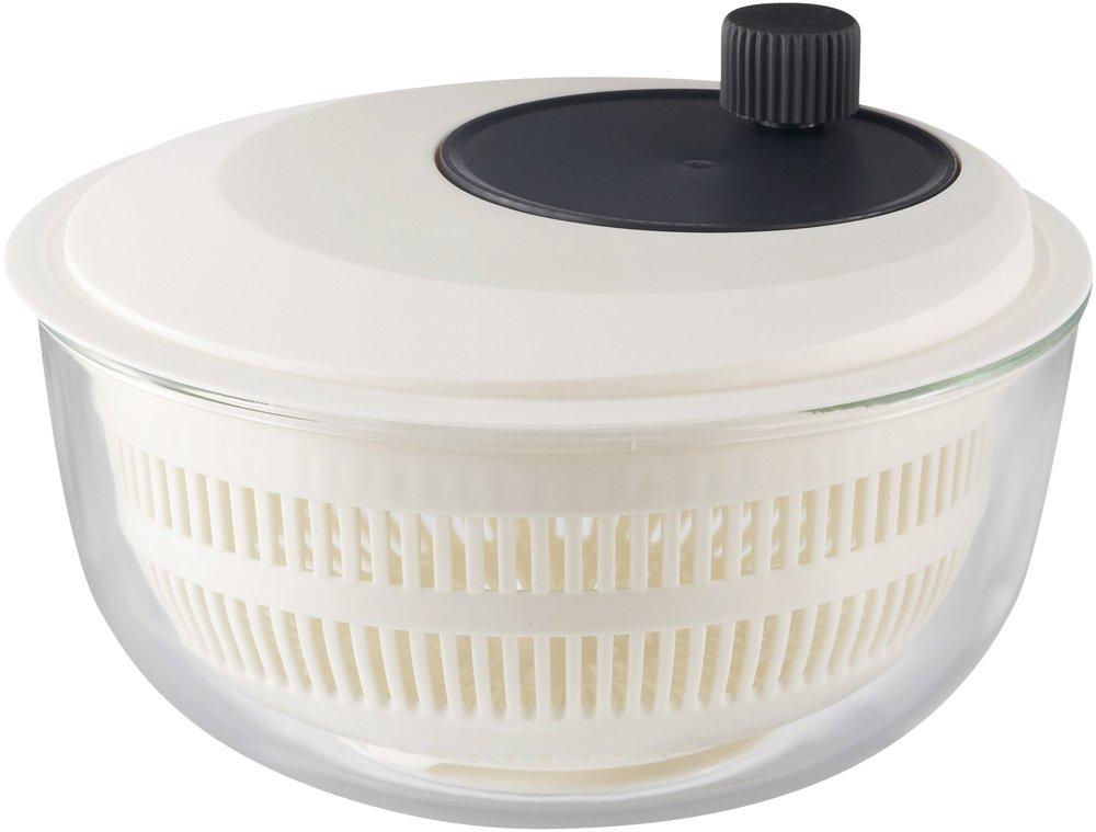 japan import heat-resistant glass bowl iwaki salad spinner K345SS