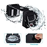 ATV Saddle Bag Waterproof Cooler or Thermal Motorcycle Tank Top Bag Compatible with Sportsman Scrambler FourTrax Grizzly Snowmobile Bicycle