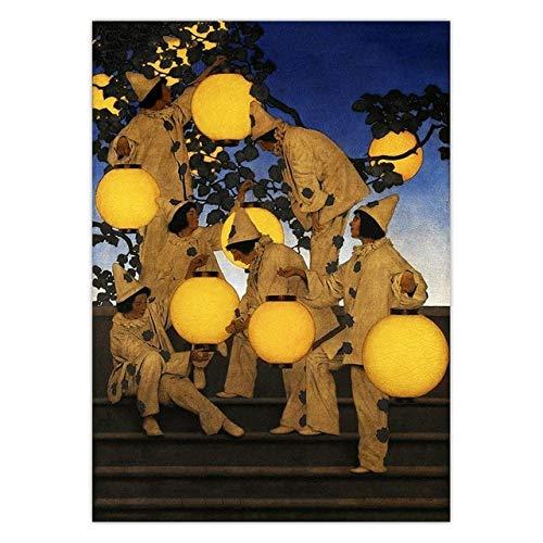 Puzzle 1000 piezas Mucha gente blanca que pinta la imagen moderna del arte de la lámpara amarilla puzzle 1000 piezas animales Rompecabezas de juguete de descompresión intelect50x75cm(20x30inch)