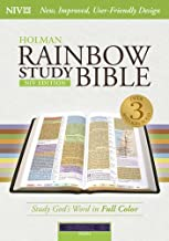 Best niv rainbow study bible purple leathertouch indexed Reviews
