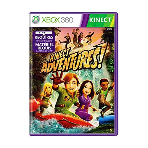 Jogo Kinect Adventures - Xbox 360 Mídia Física Usado