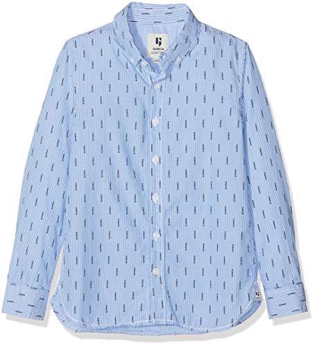 Garcia Kids Jungen G93431 Hemd, Blau (Dodgers 2602), 164 (Herstellergröße: 164/170)