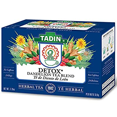 Tadin Herb and Tea Caffeine Free Detox, 24 Count (Pack of 1) by Tadin Inc Dba Tadin Herb Tea Company