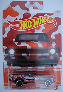 Hot Wheels, 2015 Exclusive Camouflage Series, '68 Chevy Nova Red 4/6