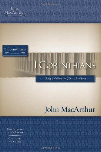 1 CORINTHIANS STG (Macarthur Bible Studies)