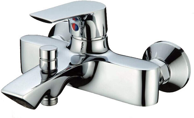 FT-13 Hot and Cold Faucet Retro Faucet Kitchen Bathroom Faucet Copper Shower Faucet Bathtub Faucet Bathroom Concealed Triple hot and Cold Water Faucet Mixing Valve Faucet