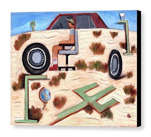 Tommervik Severe Dehydration Desert gift Factory outlet Wall Surreal Art