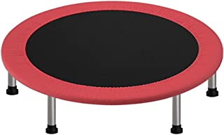 Trampolines, High flexibility Fitness Rebounder for Aerobic exercise lose weight family games, red GHHZZQ (Color : Red, Si...