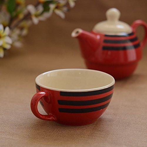 Desentrañar la India único tetera de cerámica
