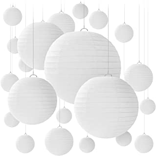 Farolillos de papel Newthinking., metal, Blanco, S/M/L/XL