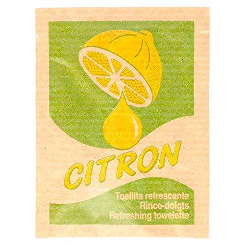 García de Pou 221.77 Toallitas Refrescantes 'Citron' Kraft 6X8 Cm Natural Celulosa (pack de 500)