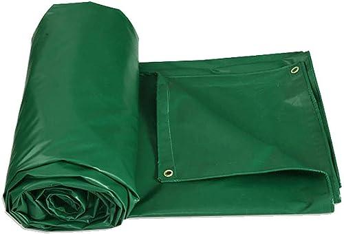 SGMYMX Bache Bache imperméable épaisse Bache résistante Tente de Camping en Plein air écran Solaire épaississant bache de Prougeection auvent Pare-Soleil Bache imperméable (Couleur   A, Taille   8×6m)