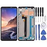 Nuevo reemplazo de Pantalla Nuevo Pantalla LCD y digitalizador Asamblea con Marco Completo, for Xiaomi Mi MAX 3 (Color : Negro)