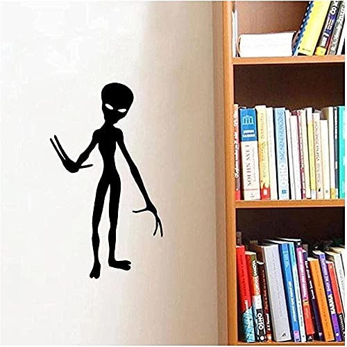 Wandaufkleber Martian Wandaufkleber Spiel Aufkleber Jungen Zimmer Lustige Wandaufkleber Home Möbel Wand Tür Dekoration 57x99cm