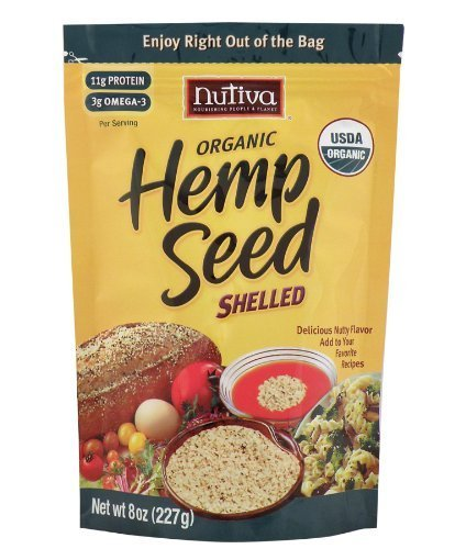 Special Campaign Nutiva Finally resale start Hempseed Shelled Org