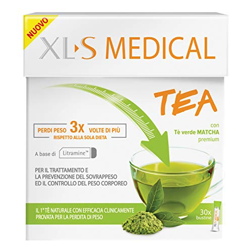 XLS Medical Linea Dispositivi Medici Tea Trattamento Controllo del Peso 30 Buste