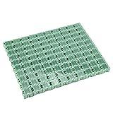 Nachar SMT - Caja de almacenamiento de plástico con compartimentos pequeños, 50 unidades para guardar componentes electrónicos, accesorios industriales y pequeños objetos.