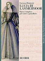 DONIZETTI - Lucia di Lammermoor para Canto y Piano