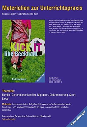 Materialien zur Unterrichtspraxis - Narinder Dhami: Kick it like Beckham