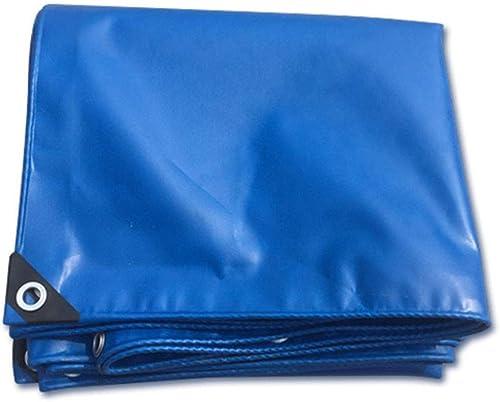 Tissu Anti-Pluie épaissi Bleu, Parasol 420g   m \u0026 sup2; Bache pour la pêche au Camping en Plein air à l'abri de la Pluie