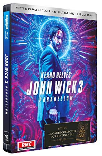 John Wick 3 : Parabellum [Édition Limitée SteelBook 4K Ultra HD + Blu-Ray]
