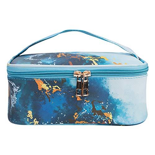 Bolsas de maquillaje, bolsa de maquillaje de viaje grande, neceser de baño,...