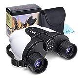 Kids Binoculars,10x25 (not 8x21) Outdoor Binoculars for Kids, (BAK4...