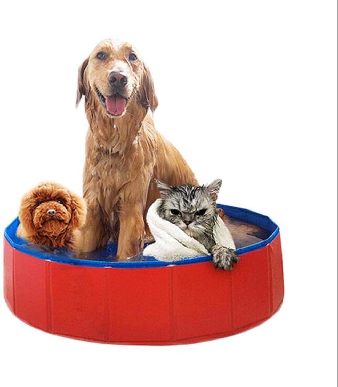 MDMMBB Hundekatze-Wannenwanne, die groe Wannen-Swimmingpool-Haustierversorgungen faltet (gre   80x20cm)