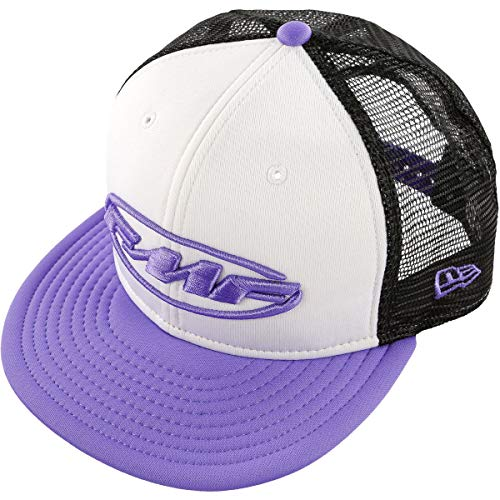 FMF Women's Pit Party Trucker Hat (WHITE/LAVENDER)