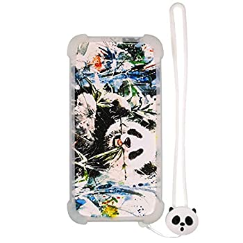 Case for Luna Tgl800s Tg-L800s Case Silicone Border + PC Hard backplane Stand Cover Luminous Effect XM