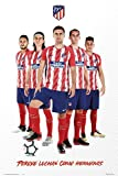 Fußball - Atletico Madrid - Players Stand 17/18 - Fussball