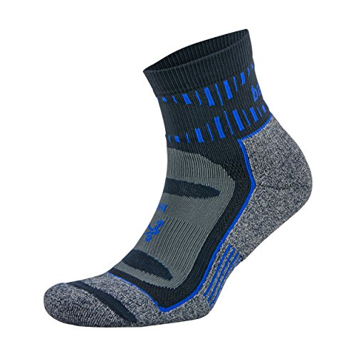 Balega Blister Resist Quarter Socks For Men and Women (1 Pair), Cobalt, Medium