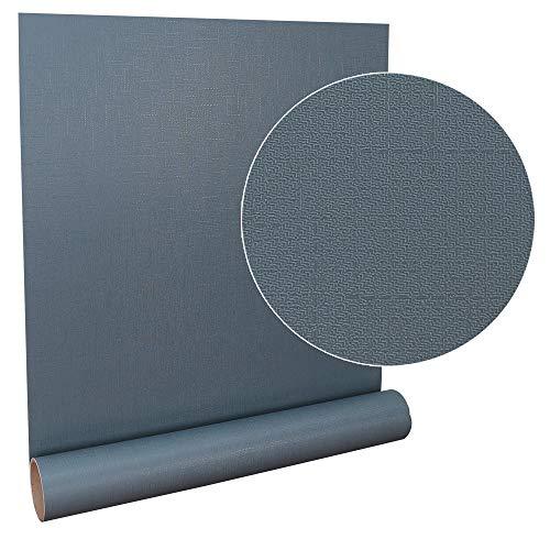壁紙 壁紙シール 6m はがせる壁紙 補修 防水 無地 レンガ 木目 リビング 幅61cm (ネイビー)