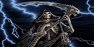 The Grim Reaper Novelty License Plate