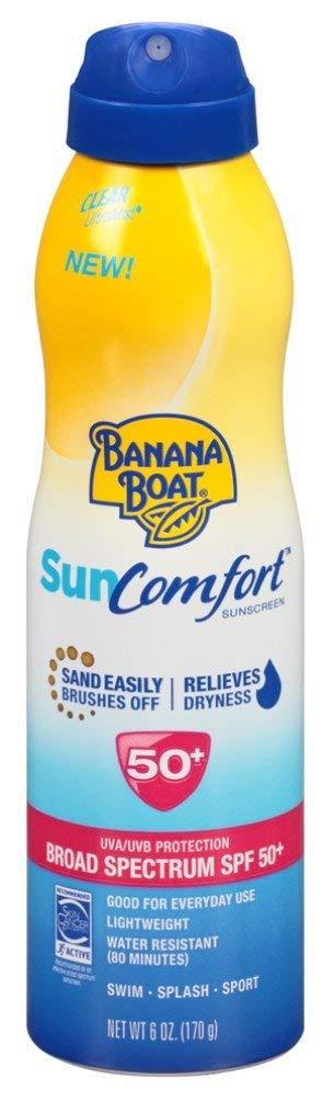 Banana Boat Continuous Financial sales sale Spf#50+ Spray Houston Mall 177ml Sun Ounce 6 Comfort