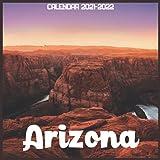 Arizona Calendar 2021-2022: April 2021 Through December 2022 Square Photo Book Monthly Planner Arizona small calendar