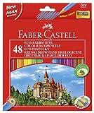 Faber-Castell 120148 - Pack de 48 lápices y sacapuntas