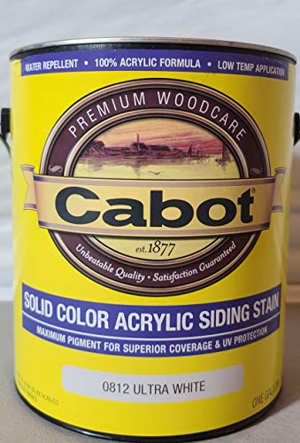 Cabot Exterior Solid Color Acrylic Siding Stain
