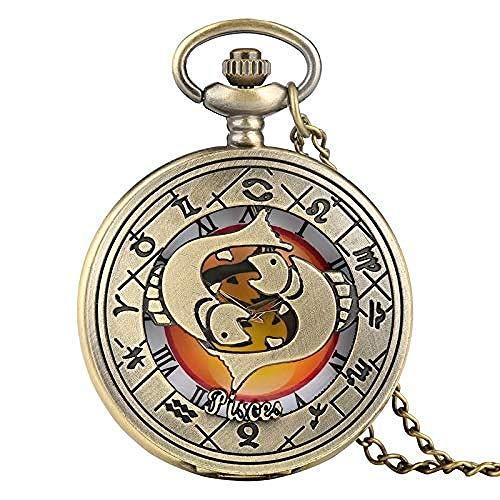 Ahuyongqing Co.,ltd Mejor Amigo Son Las Hermanas Que elegimos diseño de Cristal cabujón Reloj de Bolsillo de Cuarzo Vintage Hombres Mujeres Colgante Collar Cadena Reloj
