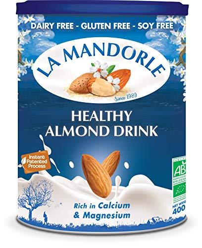 La Mandorle - Lait d'amande fleur d'amande bio et probiotiques 400 g