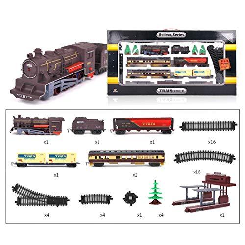 XIAN 1/87 Modelo de locomotora ferroviaria H0, Modelo de tren Pequeño Juguete...