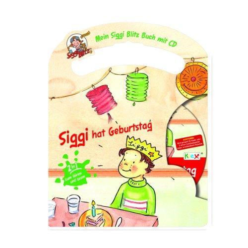 Mein Siggi Blitz Buch mit CD - Siggi hat Geburtstag , Kinderbuch zum Hören und Lesen