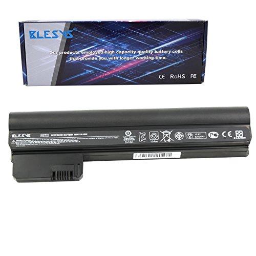BLESYS 10.8V 6-C/élula Reemplazo para HP COMPAQ Mini 110-3000 110-3100 CQ10-500 Series 03TY TY06 06TY HSTNN-CB1U HSTNN-E04C HPMH-B2885010G00011 HPMH-B2885010G00012 bater/ía de port/átil