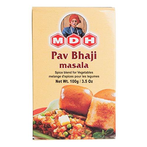 MDH パヴバジマサラ 100g 1箱 Pav Bhaji Masala スパイス ハーブ 香辛料 調味料 ミックススパイス 業務用