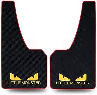 泥よけ マッドフラップ 汎用マッドフラップ スタンダードタイプ [2pcs] (little monster)