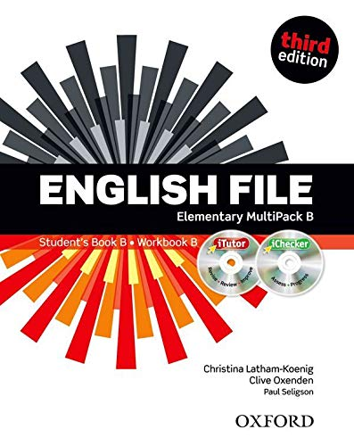 English File third edition: English file digital. Elementary. Part B. Student's book-Workbook-iTutor-iChecker. With keys. Per le Scuole superiori: The best way to get your students talking